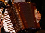 Jeff Taylor, accordion close-up