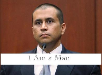 George Zimmerman--I Am a Man