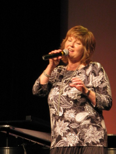 Twila Paris singing God is In Control