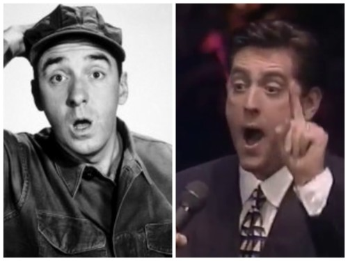 Ernie Haase and Jim Nabors better comparison