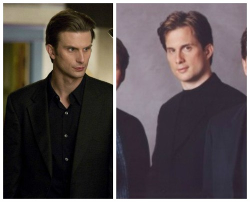 Michael Booth and Frederick Weller comparison