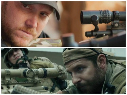 American Sniper Kyle and Cooper collage
