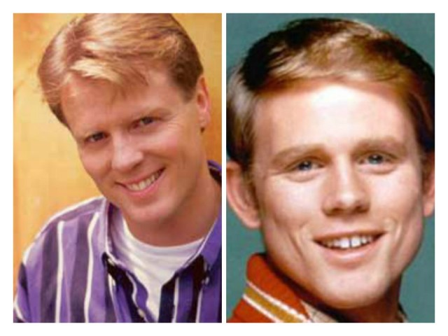 Kirk Talley and Ron Howard collage