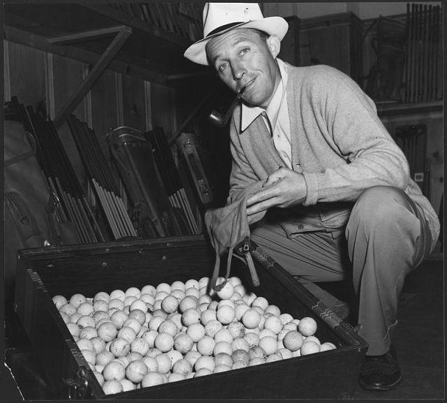 Bing Crosby public domain image