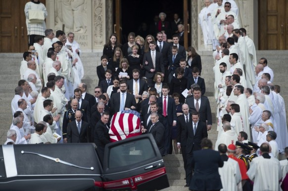 Justice Scalia funeral