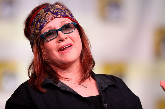 Carrie Fisher public domain