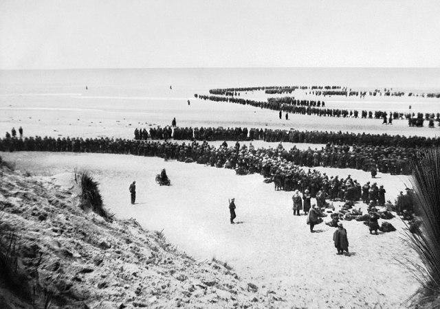 Dunkirk beach public domain image