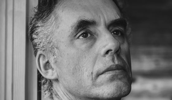 Jordan Peterson, black and white